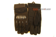Tactical Gloves with knuckle protection - black