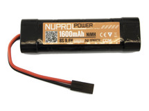 Nuprol Power 1600mAh 9.6V Mini Type Brick/Block Type battery