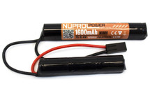 Nuprol Power 8.4V 1600mah NiMH Crain Nunchuck Type Battery (8002)