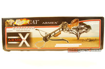 armex jaguar black 175lb crossbow