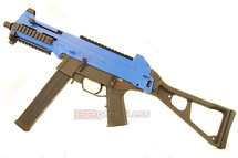 Double Eagle M89 Electric Airsoft Rifle in blue/black