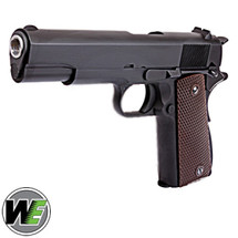 WE M1911 HICAPA Full Metal Pistol with Gas Blowback in Black