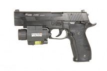 Sig Sauer X-Five Co2 blowback Pistol in black