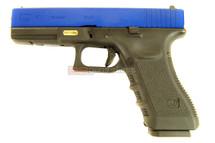 WE EU17 GEN 3 GBB - Gas Airsoft Pistol in Blue