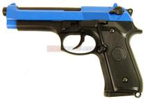 KJ Works M92 Pistol GBB in Blue