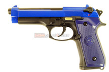 WE M92 GEN 1 GBB Pistol in blue