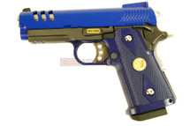 WE HI Cappa 3.8 GEN 3 GBB Pistol in blue