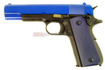 WE 1911A GEN 3 GBB Pistol in blue