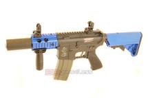 ARES M4 Airsoft Gun in Tan/Blue