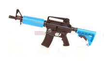 SRC DRAGON SR4-C Electric Rifle  in blue with carry handle