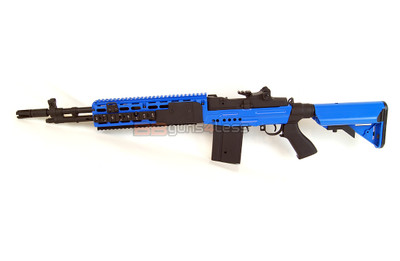 Cyma CM032 AEG Rifle in Blue