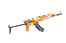 CYMA ZM93-S Spring Rifle with metal folding stock in orange