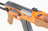 CYMA ZM93-S Spring Rifle with metal folding stock in orange