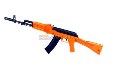 Well D74 AK74 electric BB Gun in orange