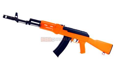 Well D47 AK74 Full Auto BB Gun in orange