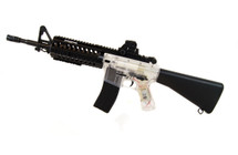 backviper b3814 electric rifle in black/clear