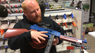 Guy with Vigor 8904A Spring Rifle in blue