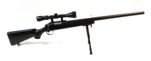Well MB03 Sniper Rifle with scope & bipod in Black