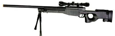 Well MB01 Sniper Rifle with Scope & Bipod in Black