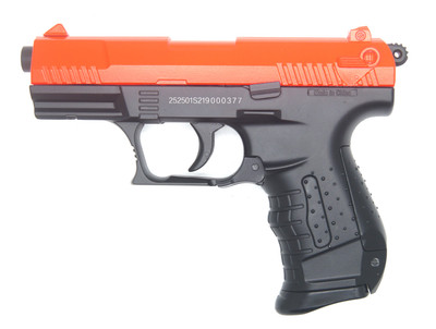 WELL P66 Spring Pistol Walther p22 replica in orange (New Full Metal Version)
