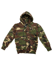 Kids DPM Camo Hoodies with zip