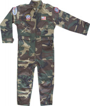 Mil Com Kids  Flying Suit In Army Camo