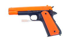 SRC SR 1911 Long Gas blow back pistol Full metal in Orange