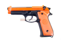 SRC SR 92 Gas blow back pistol Full metal in Orange