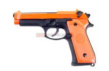 SRC SR 92 Gas blow back pistol Full metal in Orange