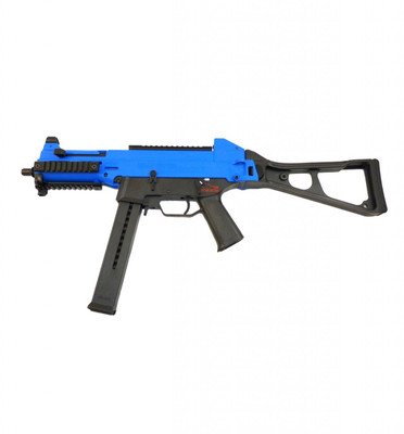 UMAREX Sportline Electric Rifle with folding stock in Blue