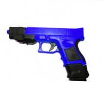 cyma fixed hop-up P698+ plus bb gun airsoft pistol in blue