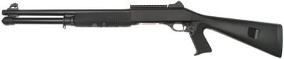 KOER Combat Tri Barrel Shotgun with Fixed Stock in Black