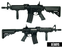 D|Boys M4 RAS II Full Metal AEG in Black