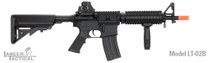 Lancer Tactical M4 CQBR MK18 AEG in Black LT-02B