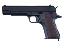 Cyma CM123 Electric Airsoft Pistol AEP in Black