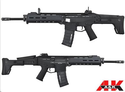 A&K Magpul Licensed Masada 2  Airsoft Gun  in Black