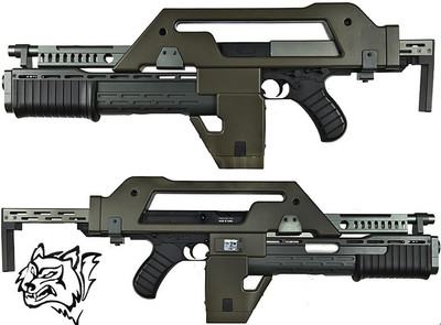snow wolf m41a pulse rifle (Alien Gun)