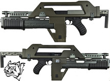 snow wolf m41a pulse rifle (Alien Gun)