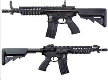 AY M4 Full Metal AEG with Crane Stock Black Rifle