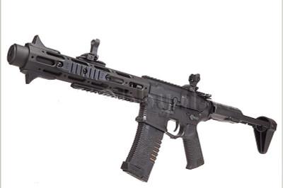 Ares Amoeba Honey Badger Airsoft AEG Rifle in Black