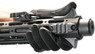 ares honey badger airsoft aeg black rifle with rotating barrel