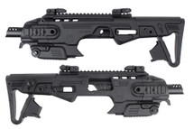 CAA RONI B M9 Pistol Carbine Conversion Kit in Black