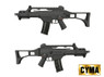 Cyma CM011 Airsoft Gun with folding stock in Black