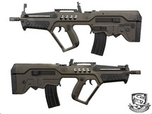S&T Tavor T21 AEG in Army Green