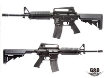G&D AR-15 Full Metal Carbine  AEG Black Rifle