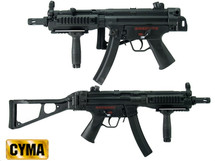 CYMA CM049 Metal Submachine Gun in Black