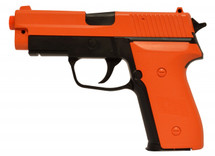 Double Eagle M26 E226 Pistol bb gun in orange