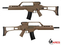 Ares AS36K Airsoft AEG Rifle in Tan