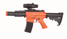 Well D2808 Electric Airsoft Gun with mock scope in Orange