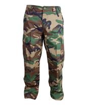 Kombat M65 BDU Ripstop Trousers - US Woodland